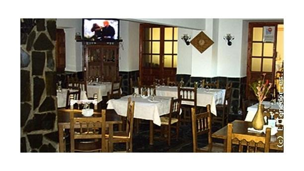 Vista de las mesas - Venta del Magasca, Trujillo