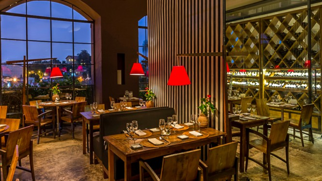 Sala do restaurante - Térèze, Rio de Janeiro