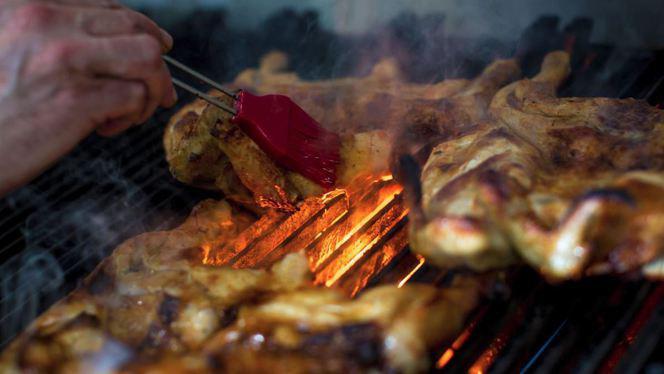 pollo a la parrilla - El Fado, Alicante