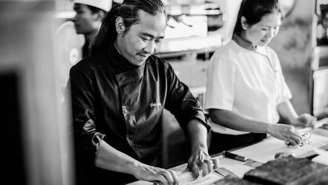 Notre équipe de Sushimen en action en cuisine - Enjoy Sushi Bouc-Bel-Air, Bouc-Bel-Air