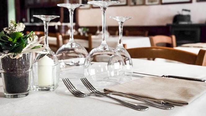 tavolo - Osteria della Darsena, Pavia
