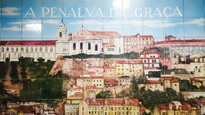 Detalhe de decoração - A Penalva da Graça, Lisboa