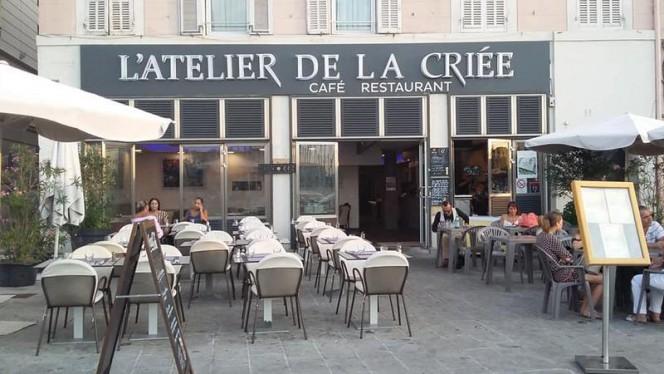 le restaurant - Atelier de la Criée, Marseille