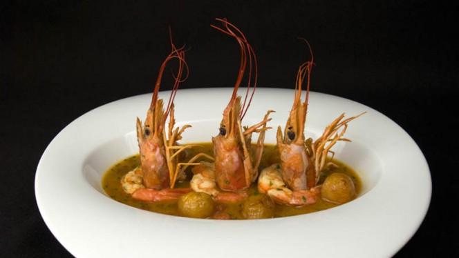 Sugerencia de plato - La Pintada - Hotel Puerta de la Luna, Baeza