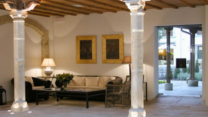 Vista sala - La Pintada - Hotel Puerta de la Luna, Baeza
