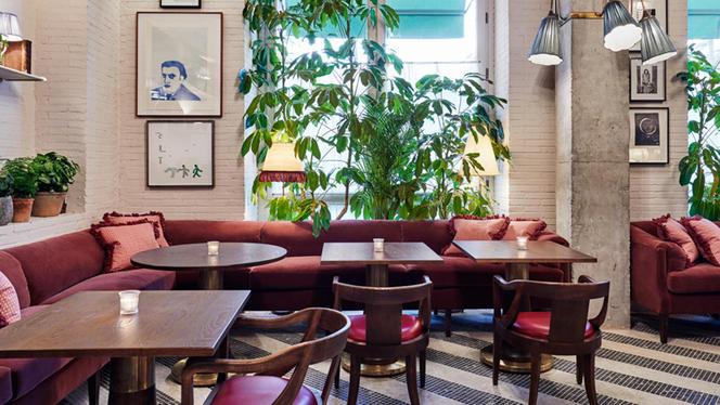 Café area - Cecconi's, Barcelona