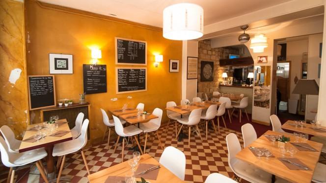 Salle du restaurant - Il Ristorante, Paris