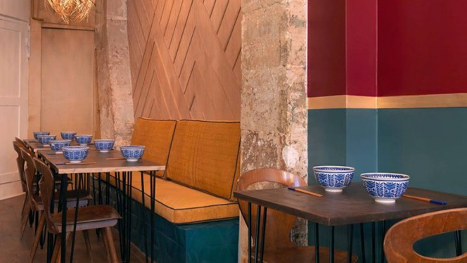 Salle du restaurant - Natives, Paris
