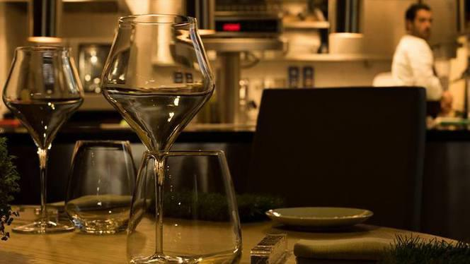 Particolare tavolo - Impronta d'Acqua,