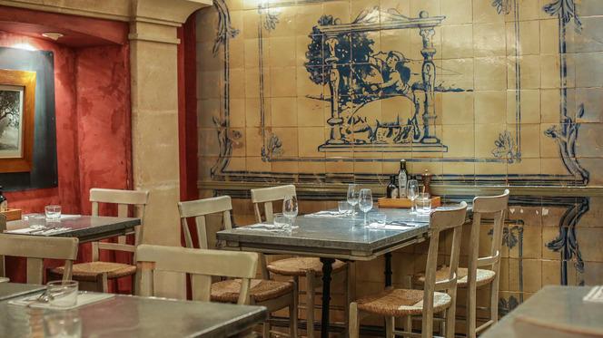Table dressée - Bellota-Bellota® Tour Eiffel, Paris