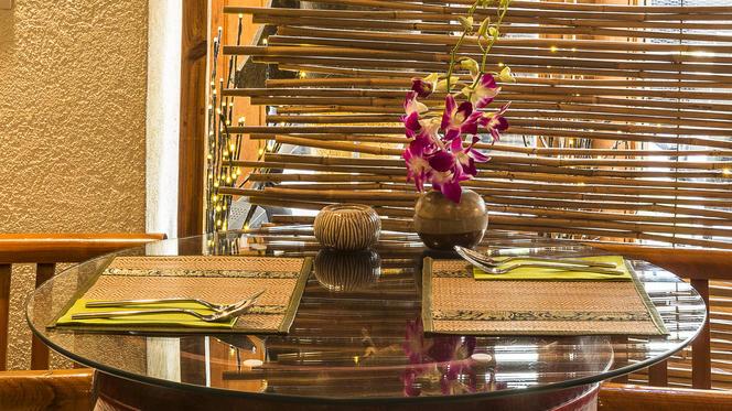 détail table - Chiang Mai Thai Restaurant, Genève