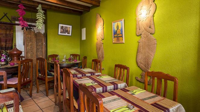 Intérieur - Chiang Mai Thai Restaurant, Genève