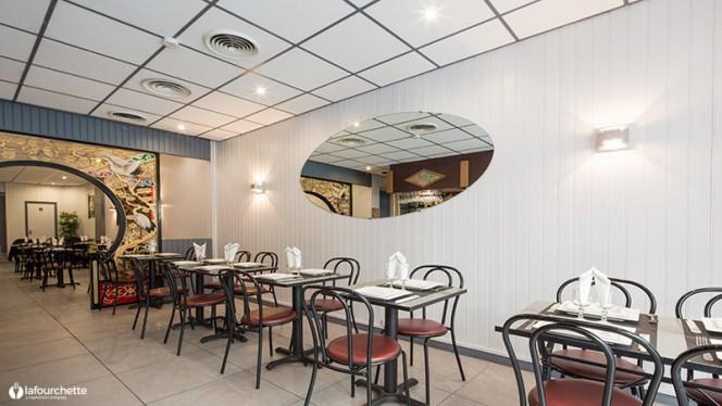 Salle du restaurant - Le Pacifique, Bordeaux
