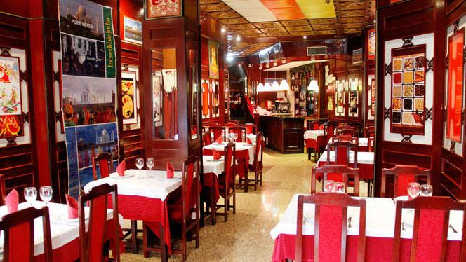 Vista salón - Rangoli, Madrid