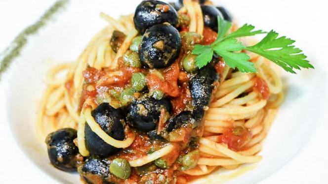 Spaghetti puttanesca - SiamoQuà, Barcelona