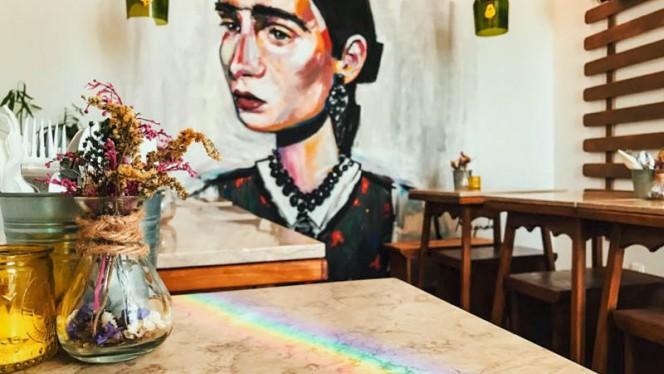 Sala do restaurante - Petisqueira Conqvistador, Lisboa