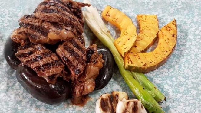 Ansim-gui: filetto di manzo marinato in salsa bulgoghi Lee's e grigliato - Lee's Korean Restaurant NAGRIN, Milan