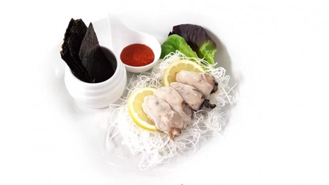 Gul-hue: ostriche crude alla coreana - Lee's Korean Restaurant NAGRIN, Milan