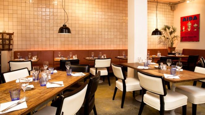 Restaurantzaal - Restaurant VIS&MEER, Utrecht