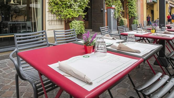Particolare terrazza - Sartoria Gastronomica, Bologna