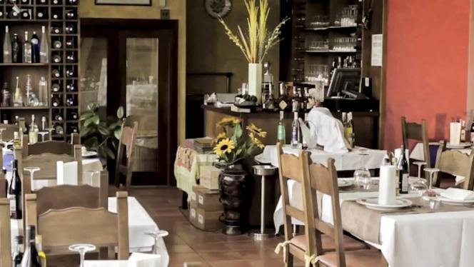 Vista sala - O Lar Do Leiton, Ourense