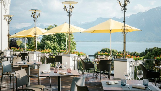 Terrasse - 45 Grill & Health, Montreux