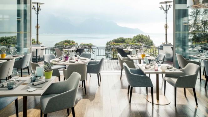 Vue de la salle - 45 Grill & Health, Montreux