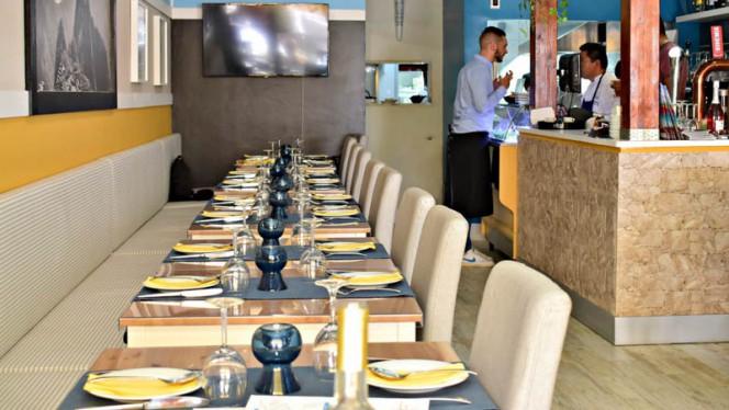 Vista da sala - Incanto - Peruvian Restaurant, Cascais