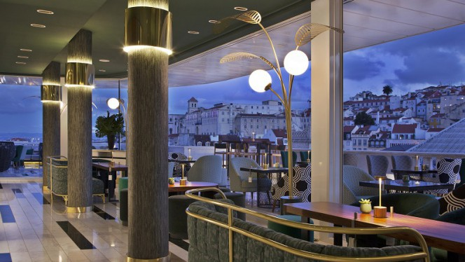 Esplanada - Rossio Gastrobar, Lisboa