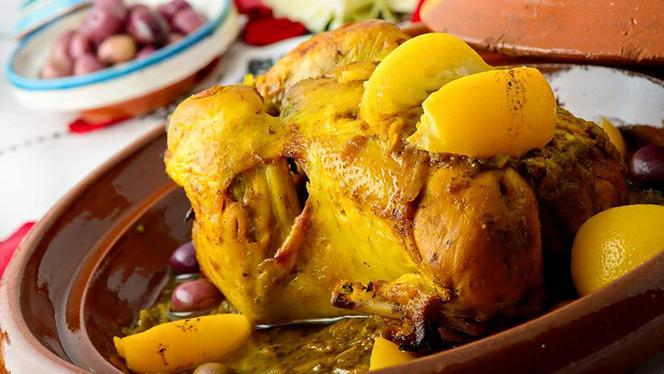 Pollo al limone e olive - Riad Marrakech, Milan