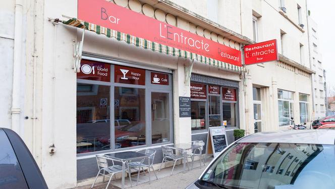 Devanture - L'Entracte Bar Restaurant, Lyon