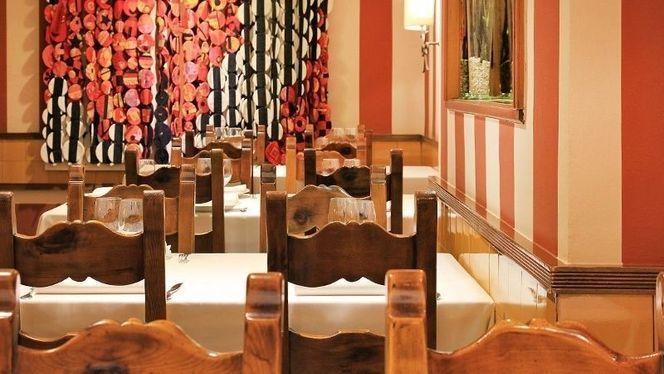 Detalle sillas y decoración - Dolceta 2, Barcelona
