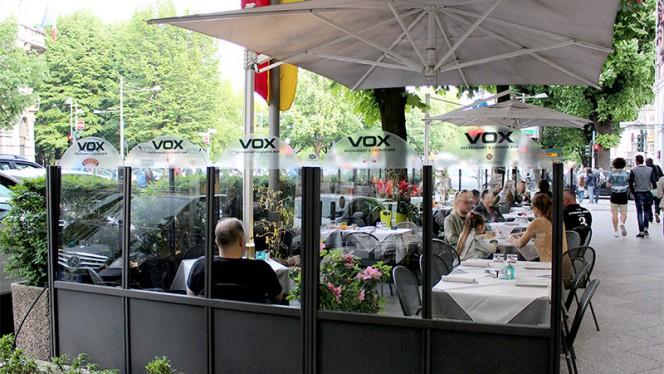 Terrazza esterna del ristorante - Vox Restaurant & Lounge Bar, Bergamo