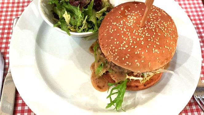 Burger du Bombistrot - Les BomBistrot, Paris
