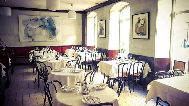 interior - Restaurang Bergamott, Stockholm