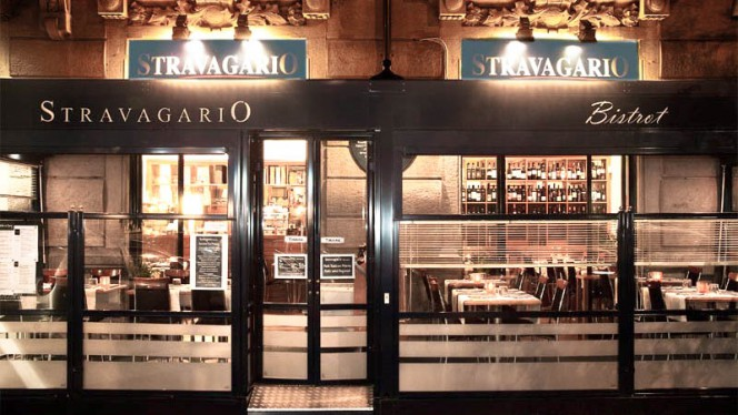Entrata By Night - Stravagario bistrot, Milan