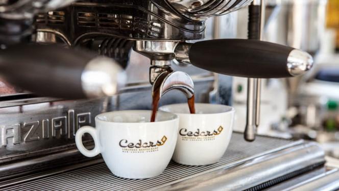 Koffie - Cedars, Amsterdam