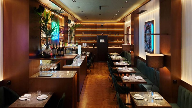 Vista de la sala - Jobs Restaurant, Barcelona