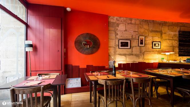 vue de la salle - Bistro Mimi, Bordeaux