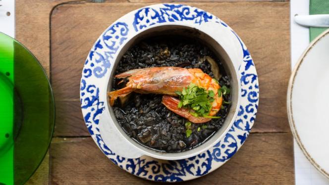 Arroz de choco com camarão - Taberna da Esperança, Lisboa