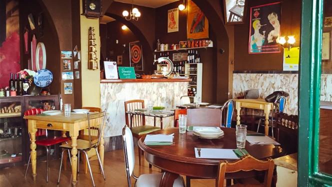 sala do restaurante - Taberna da Esperança, Lisboa