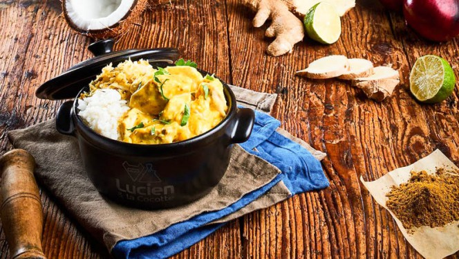 Cocotte curry - Lucien & La Cocotte Europe, Lyon-6E-Arrondissement