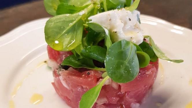 Tartare de thon, câpre, stracciatella - L'Orsö Italiano, Toulouse
