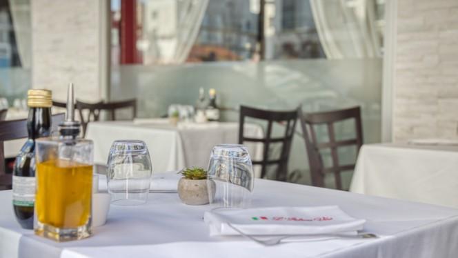 Détail de la table - L'Italiano Vero, Lyon