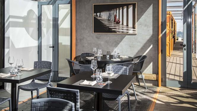 Vista da sala - Okah Restaurant & Rooftop, Lisboa