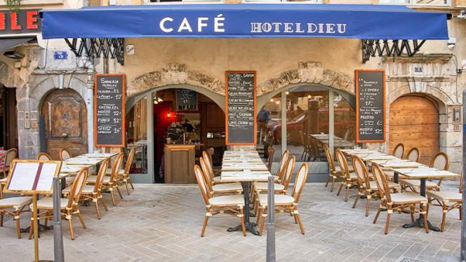Entrée - Café Hotel Dieu, Lyon