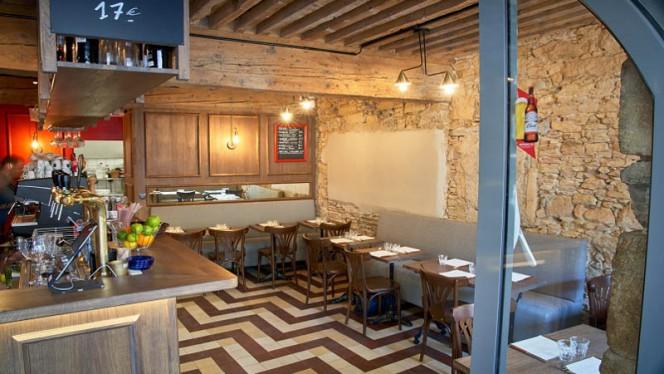 Vue de la salle - Café Hotel Dieu, Lyon