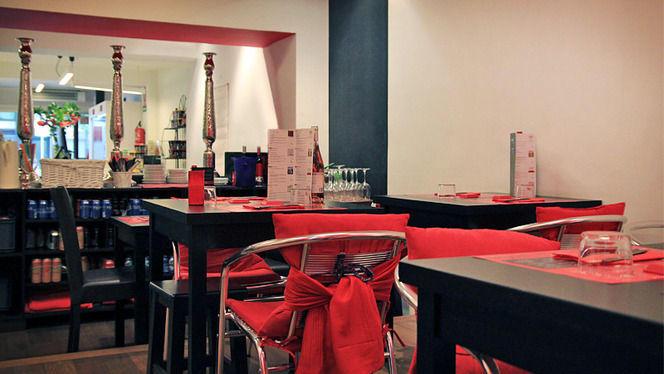 detalle sala montada - My Sushi Side, Barcelona