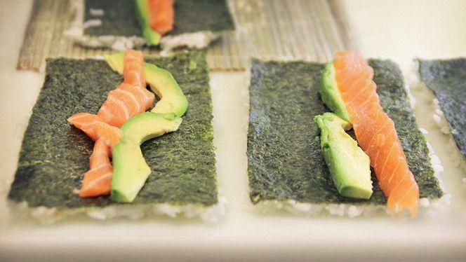 preparación california - My Sushi Side, Barcelona