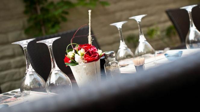 table dressée - French Kiss,
